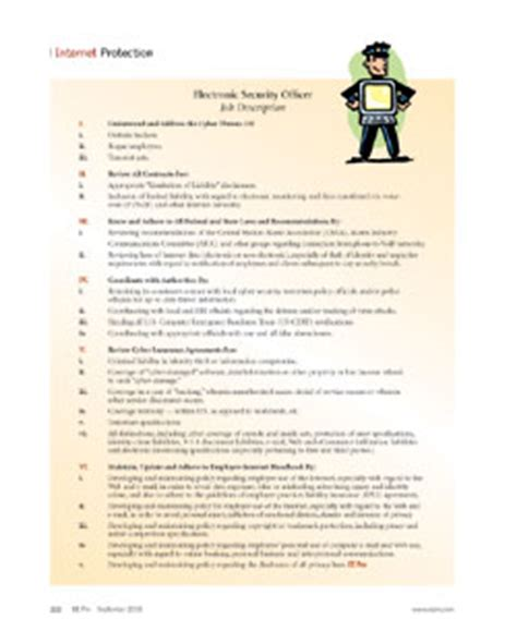 security officer duties and responsibilities facility security officer job description