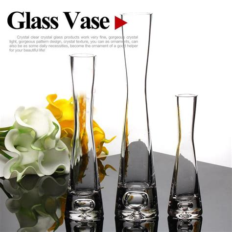 Unique Glass Vases by Blown Glass Vases Manufacturer Clear Glass Flower