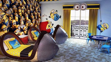 top minion hotel rooms   world despicable  kids