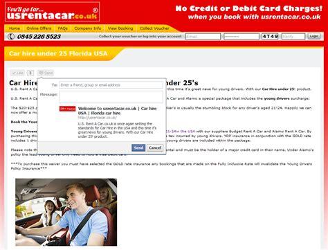 Usrentacar.co.uk ® Car Hire Usa Blog » Facebook Share
