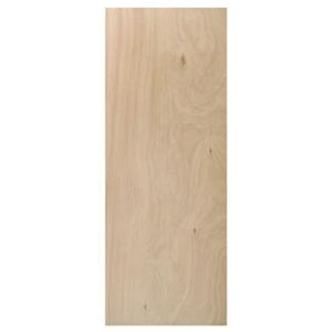 home depot hollow door steves sons 18 in x 80 in flush hardwood unfinished