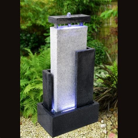 fournisseur grossiste fontaine jardin xl mur d eau moderne zen light
