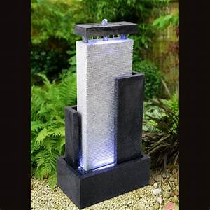 fournisseur grossiste fontaine jardin xl mur d39eau moderne With fontaine exterieure de jardin moderne