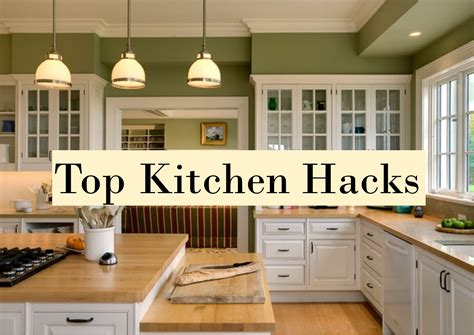 Kitchen Hacks by 10 Fantastic Kitchen Hacks