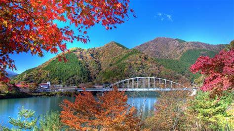 lago tanzawa japon paisaje fondos de pantalla hd fondos
