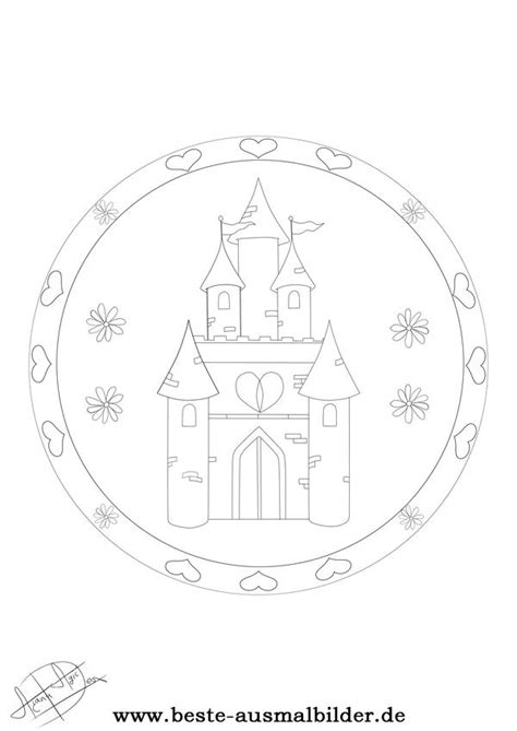 prinzessinenschloss mandala kostenlose mandala vorlagen