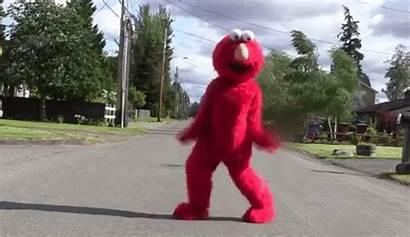 Elmo Dance Dancing Floor Seen
