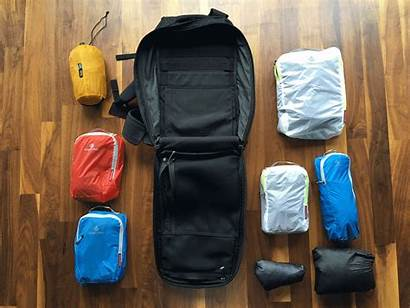 Backpack Travel Everything Pack Putting Need Together