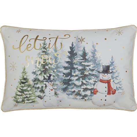 Snow Pillows by Let It Snow Pillow 14x22