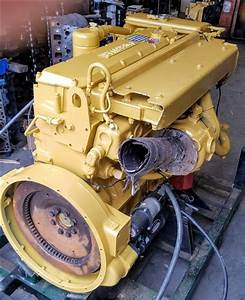 Remanufactured Caterpillar 3126 Marine Diesel Engine