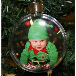 Boule De Noel Personnalisee : boules de no l personnalis es avec 2 photos de votre choix ~ Carolinahurricanesstore.com Idées de Décoration