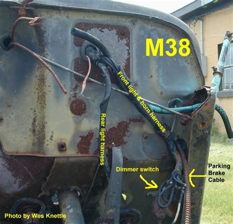 Speedo Wiring Diagram Willy Jeep by Willys M Jeeps Forums Viewtopic Wiring Harness Routing For