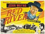 Film Posters, Red River, Howard Hawks, John Wayne ...
