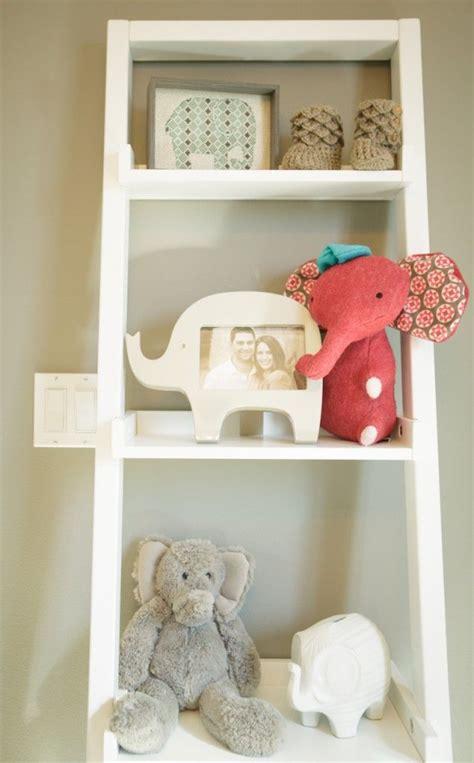 etagere chambre elephant nursery decor baby timko