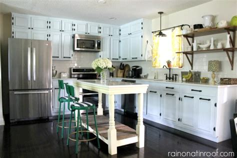 island kitchen images remodelaholic 1960 s ranch kitchen renovation with 1960