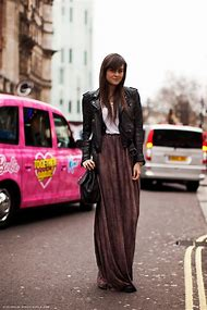 Street Style with Maxi Skirt