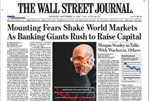 Wall Street Journal Becomes Most Popular Newspaper In The ...