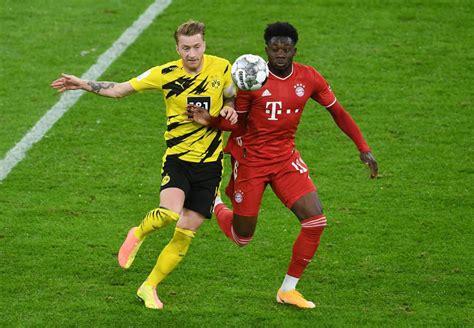 1:3 endstand im supercup live: Canada's Alphonso Davies helps Bayern beat Dortmund to lift German Super Cup   wellandtribune.ca