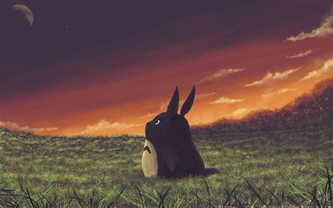 Totoro Wallpaper On Behance