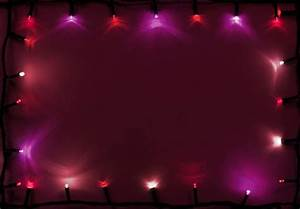 Christmas Background Pink Photo Of Pink And Red Lights Of Garland Free Christmas