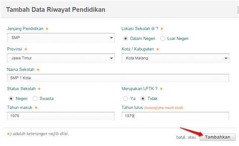 Simpatika Edit Data Rinci Ptk Dilakukan Situs