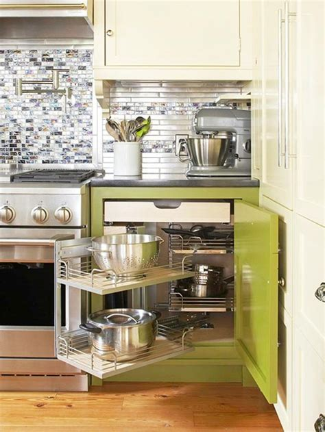 maximize kitchen storage bhg centsational style 4041