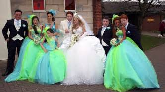 say yes to the dress bridesmaids peppermind my big gipsy wedding
