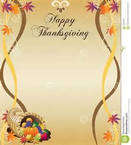 thanksgiving menu stock vector image 56318489