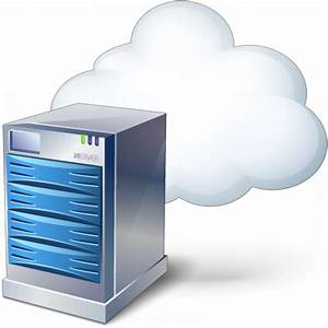 IconExperience » V-Collection » Server Cloud Icon