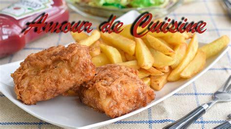 recette de cuisine anglaise recette de fish and chips maison cuisine anglaise