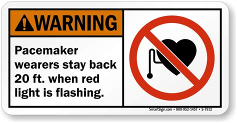 pacemaker warning signs magnetic field pacemaker hazard
