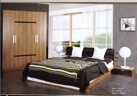 ensemble chambre ensemble de chambre à coucher en bois de noix moderne htm