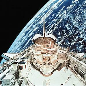 Space Shuttle In Orbit Photograph by Nasa