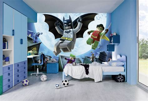 chambre wars decor lego wall murals