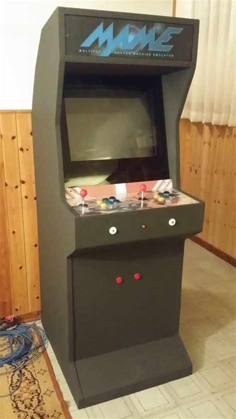 cabinato arcade costruire un cabinato arcade di gstechnoblog