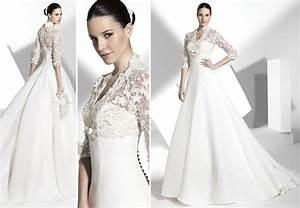 2013 wedding dress franc sarabia bridal gowns spanish for Spanish wedding dress designers