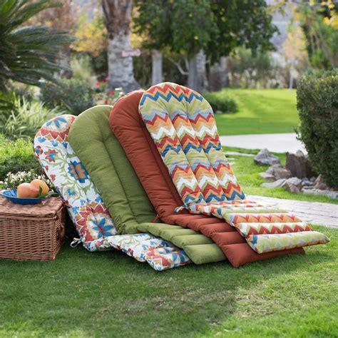 Coral Coast Cantara Adirondack Chair Cushion Russet
