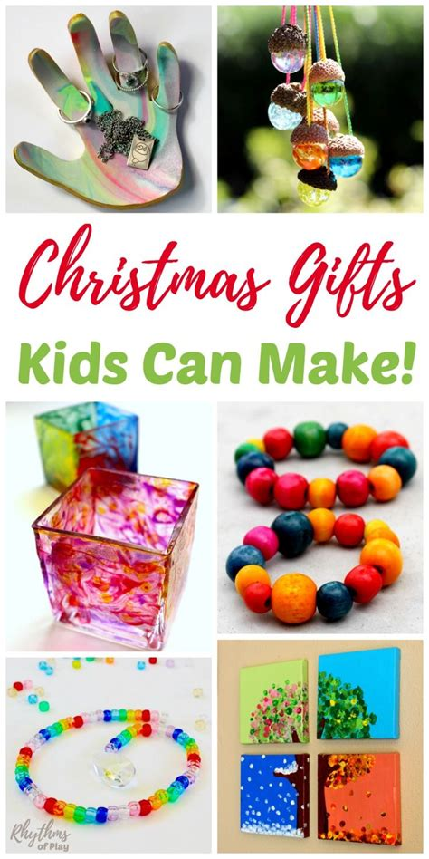 unique handmade gifts kids   homemade crafts