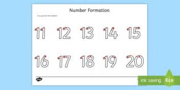 number formation worksheet activity sheet   fine motor