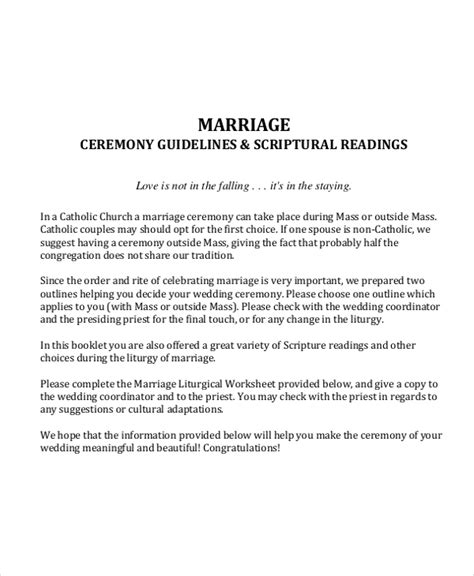 wedding outline template   word  document