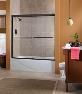 le pare baignoire coulissant se soigne de votre confort With porte de douche coulissante avec petite salle de bain baignoire ilot