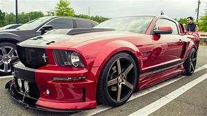Red Ford Mustang GT Cervini wallpapers and images - wallpapers, pictures, photos