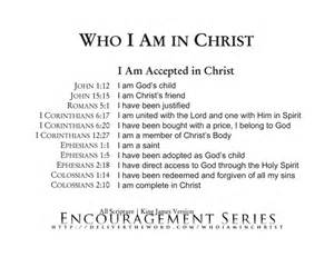 I AM Accepted in Christ