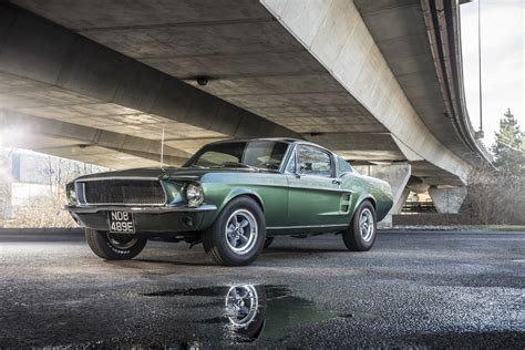 Ford Mustang Fastback 1968 Wallpaper