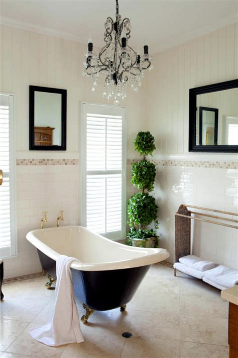 Country French Living Room Pictures by French Twist In A Classic Bathroom Interior Design Ideas