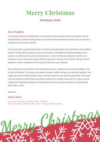 santa letter flowchart templates  canva
