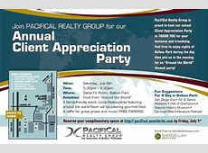 PacifiCal Realty Group Client Appreciation Party Tickets