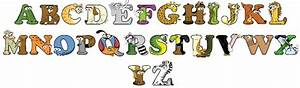 alphabetimals alphabet animals teach your child the With alphabet letters that look like animals