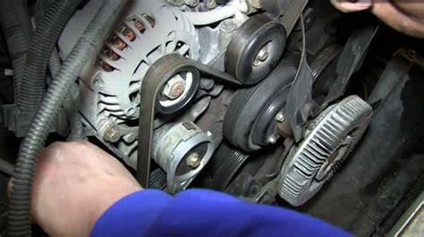 how does it take to replace a serpentine belt
