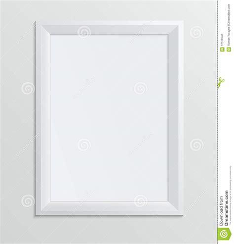 Leere Bilderrahmen Gestalten by Empty White Frame On A White Background Design A4 Stock